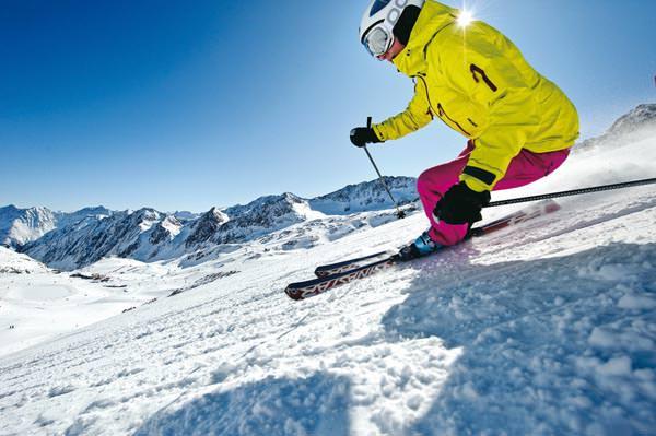 Stubaier Gletscher - Skifahren