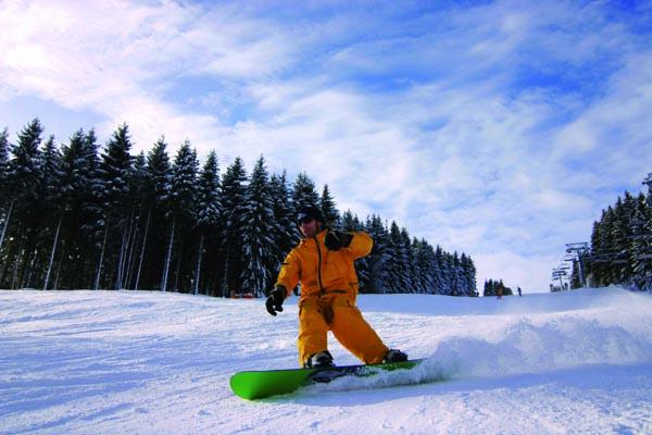 Wintersport-Arena - Snowboarder