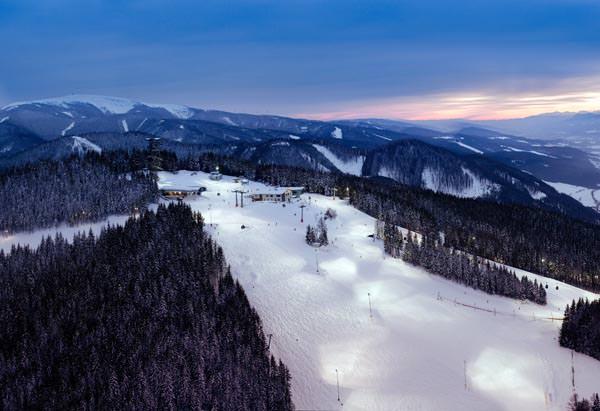 Zauberberg - Nachtpiste Bergstation