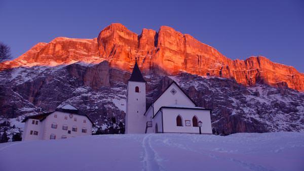 Alta Badia - Heiliges Kreuz Kirchlein