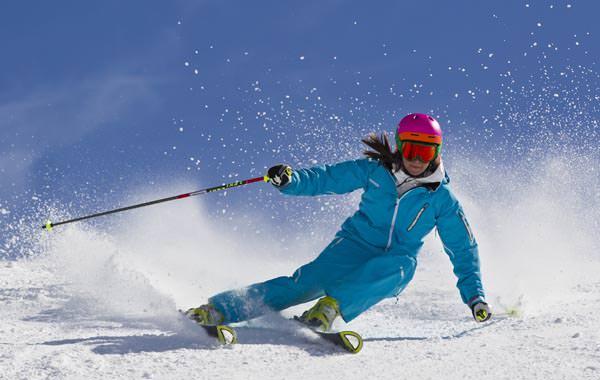 Glungezer - Skifahrerin