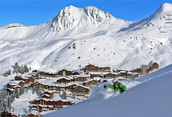 La Plagne - Ski Freeriding