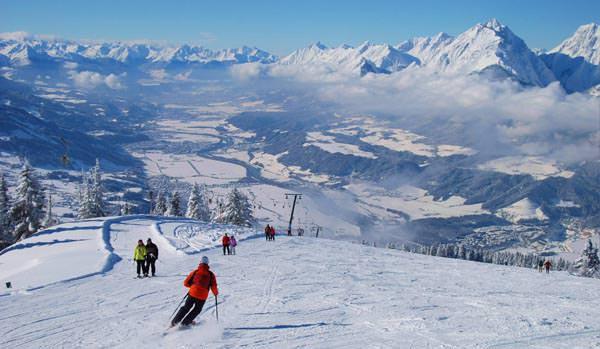 Silberregion Karwendel - Skifahren Kellerjoch
