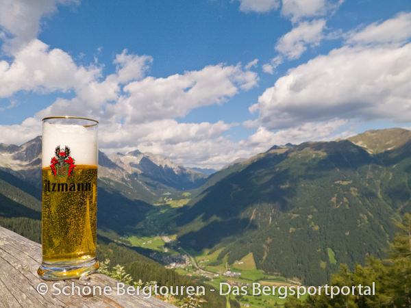 Antholzertal - Bier an der Grente Alm