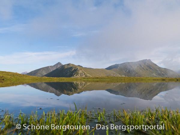 11 Gipfel Tour 2013 - Wasserspiegelungen