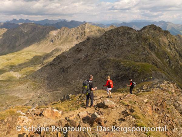 11 Gipfel Tour 2013 - Abstieg von der Rotwand