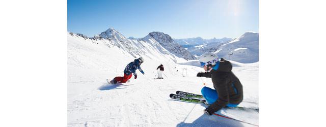 Davos Klosters - Ski und Snowboarden auf Parsenn Davos