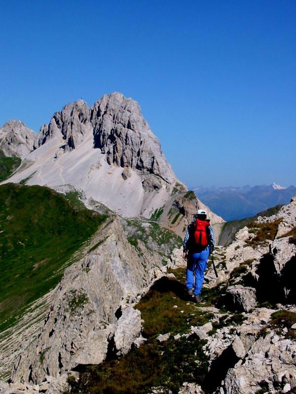 Osttirol - Kinigat vom Klettersteig