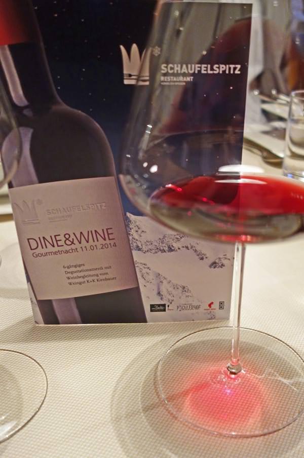 Stubaier Gletscher - Dine und Wine Dinner 2014