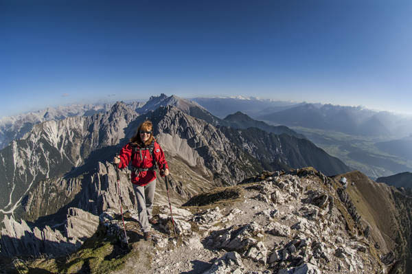 Heinz Zak - Heinz Zak - Angelika Zak an der Reither Spitze     Angelika Zak am Gipfel der Reither Spitze