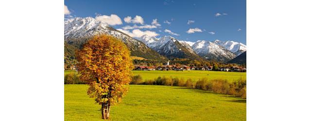 Tourismus Oberstdorf - Oberstdorf im Herbst
