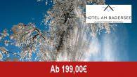 Hotel am Badersee – Winterzauber – ganz entspannt… _______________________________________________ Angebotsbeschreibung/Leistungen: Sie fahren kein Ski, wollen nicht schneeschuhwandern oder skiaktiv sein, sondern einfach nur die weiße Pracht in vollen Zügen genießen? […]