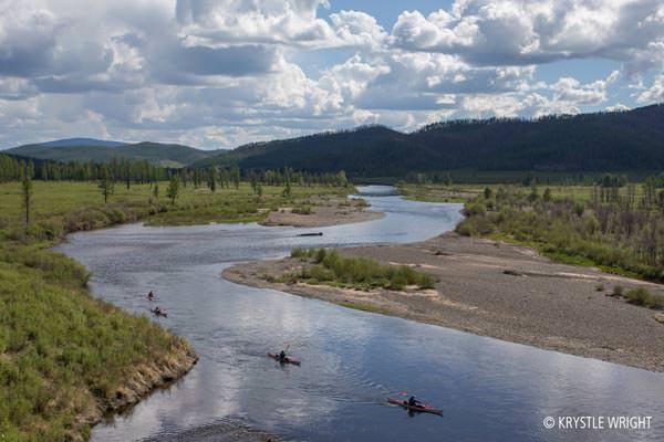 Nobodys River - Flusslauf