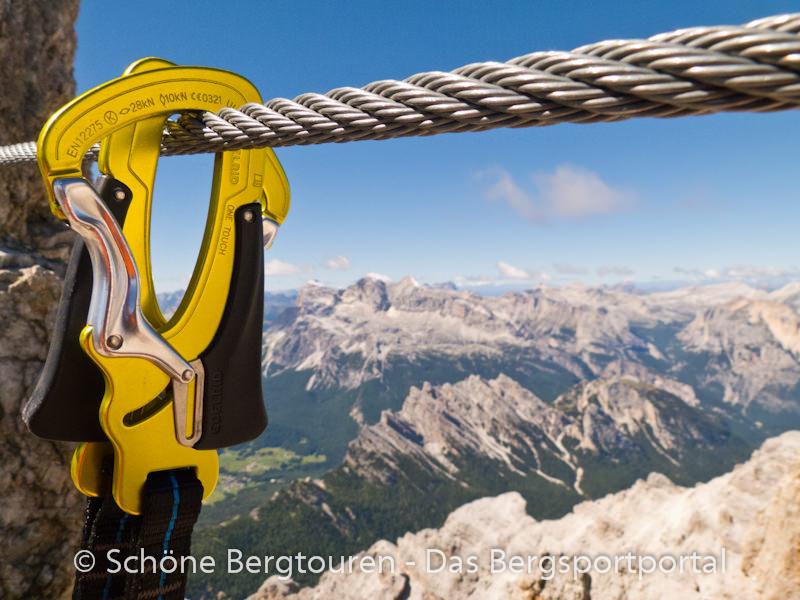 Klettersteigset Kind : Jahre klettersteig mit kindern in die berge