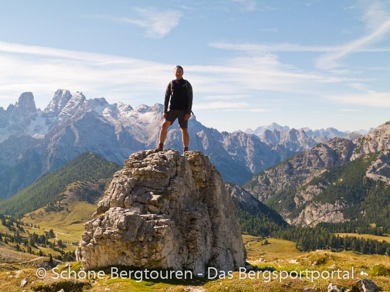 Hochpustertal - Wanderung auf den Duerrenstein
