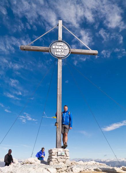Hochpustertal - Gipfelkreuz des Duerrenstein