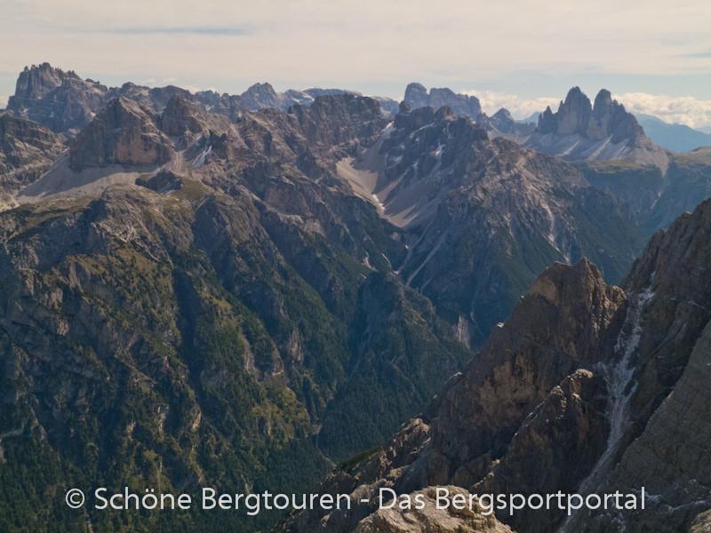 Hochpustertal - Blick vom Duerrenstein