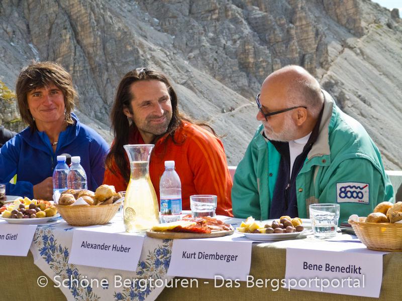 Hochpustertal - Simon Gietl, Alexander Huber, Kurt Diemberger