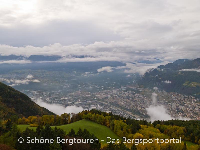Kohlern - Ausblick vom Kohlerer Turm