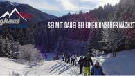 "Berghaus on Tour Winter 14/15 – Schneeschuhwandern in cooler Gesellschaft… Die Schneeschuhe anschnallen, Schneeschuhwandern bei schönen Wetter oder im Schneetreiben in guter Gesellschaft? Dann wärt ihr bei einer der ""Berghaus […]"