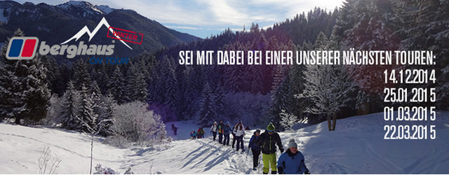 Berghaus on Tour Winter 2014/15