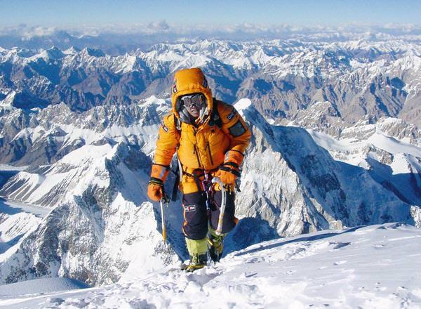 Edurne Pasaban - Kurz unterm Gipfel des K2 im Jahr 2014