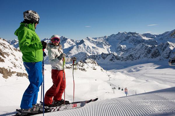 Kaunertal - Skifahren