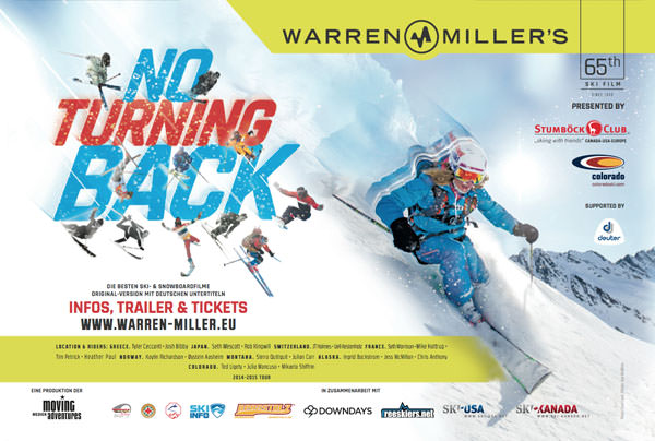 Warren Miller - No Turning Back