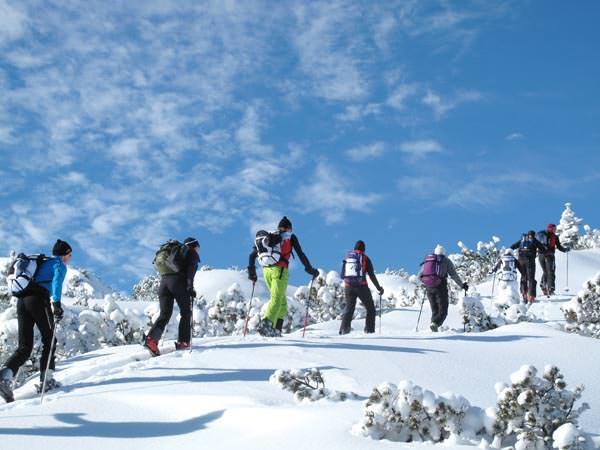 Kleinwalsertal - Skitour