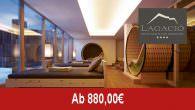 Lagació Hotel Mountain Residence – Wellness-Winter… _______________________________________________ Angebotsbeschreibung/Leistungen: Wellness-Winter Angebotspreis: - ab 880,00 Euro (pro Person/Aufenthalt). Übernachtungen: - 7 Nächte (je nach gebuchte Zimmerkategorie unterschiedlich) Region: - Gadertal/Alta Badia (Südtirol, […]