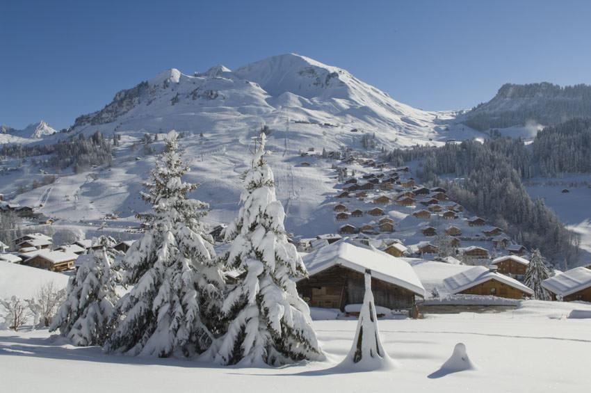 Le Grand Bornand - Winterlandschaft