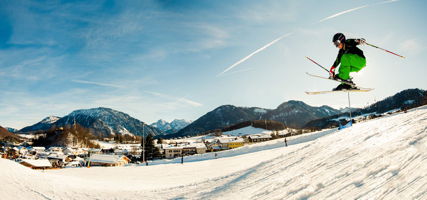 Ruhpolding - Skifahren am Westernberg