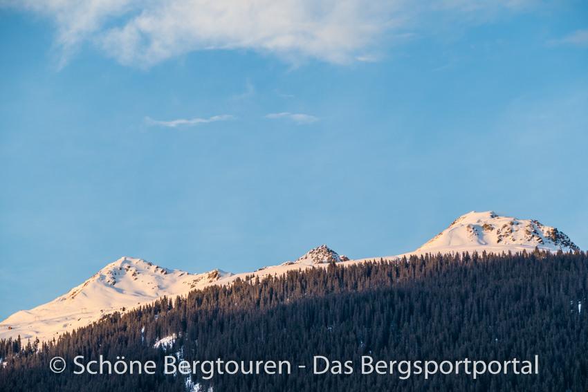Davos Klosters - Letzte Sonnenstrahlen