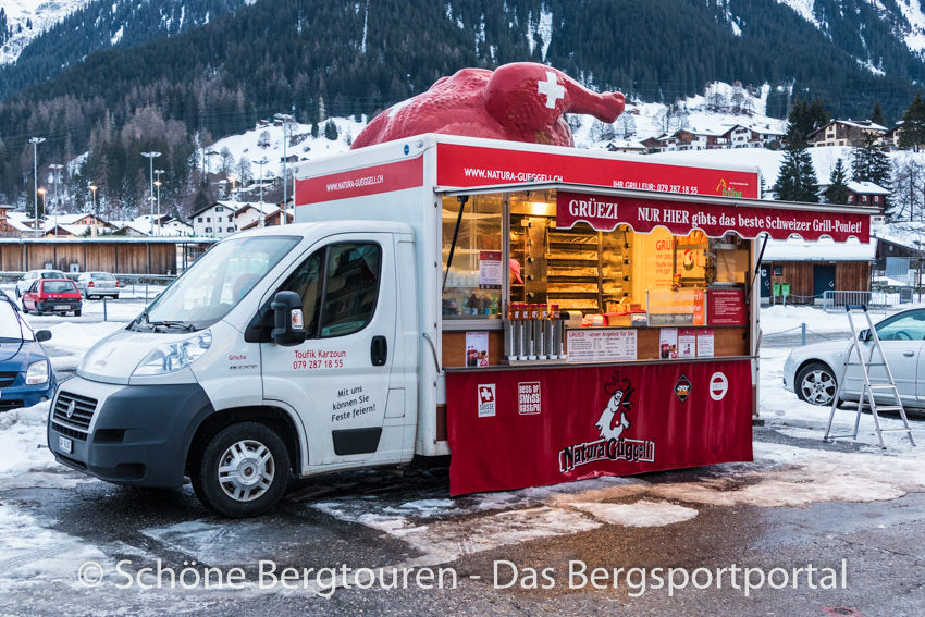 Davos Klosters - Mobile Hähnchenbraterei