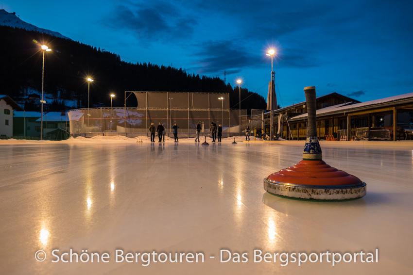 Davos Klosters - Eisstockschiessen