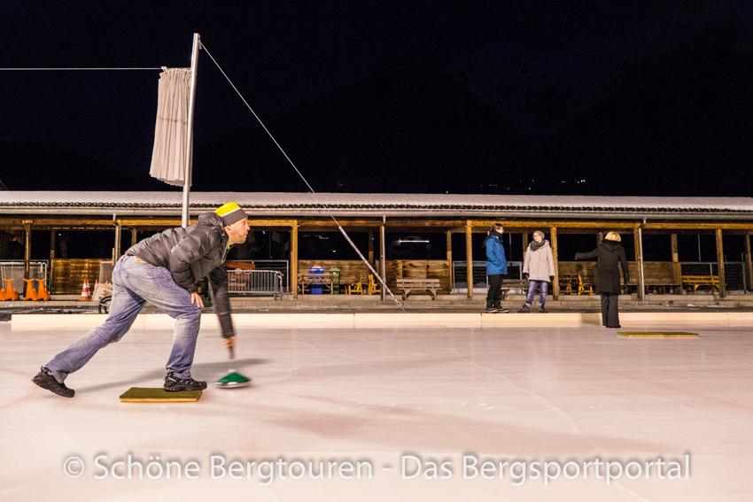 Davos Klosters -Eisstockschiessen