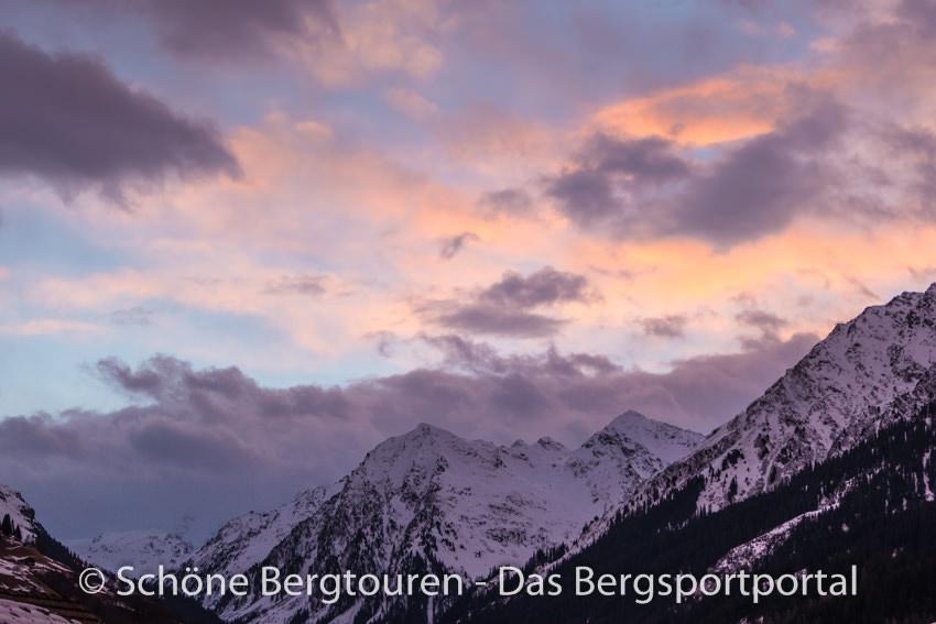 Davos Klosters - Morgendaemmerung