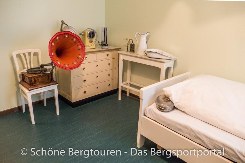 Davos Klosters - Originalzimmer im Sanatorium