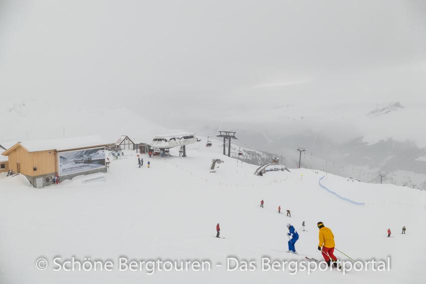 Davos Klosters - Skigebiet Jakobshorn