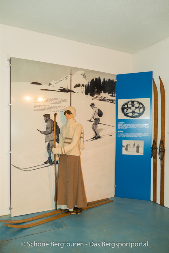 Davos Klosters - Im Winterportmuseum Davos