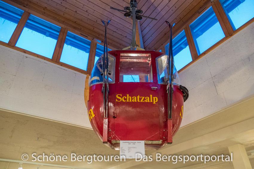 Davos Klosters - Alte Gondel der Schatzalp Bahn