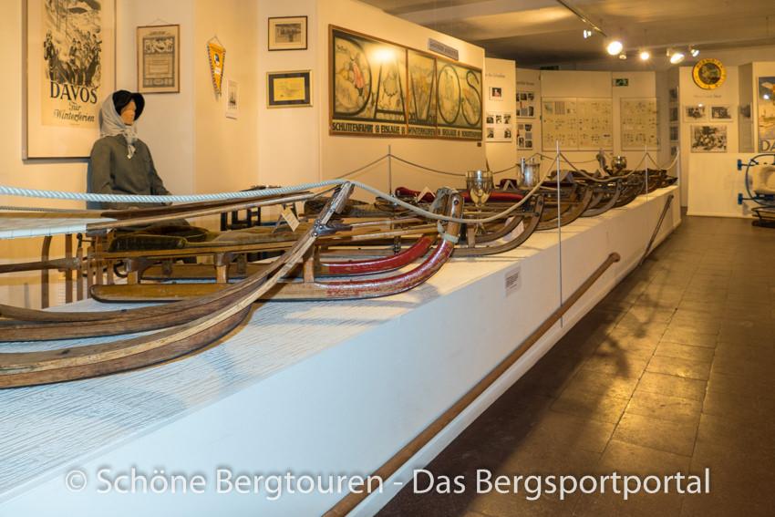 Davos Klosters - Schlittenausstellung
