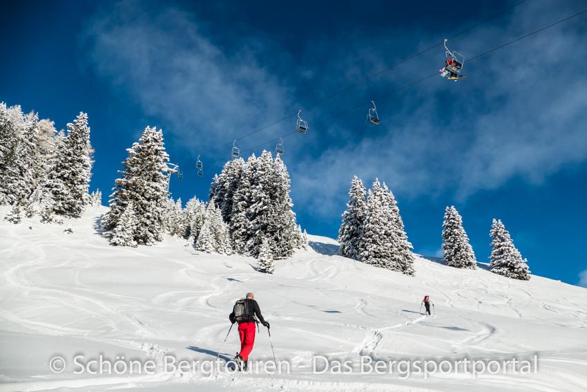 Davos Klosters - Skitourengeher