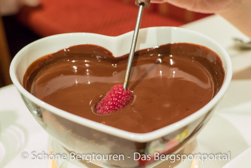 Hotel Magdalenahof - Schokoladenfondue