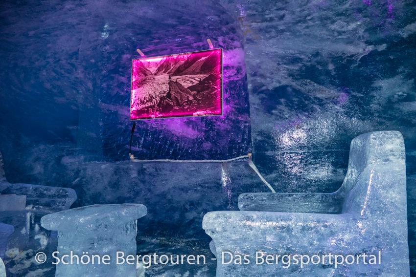 Chamonix - Eisgrotte im Mer de Glace