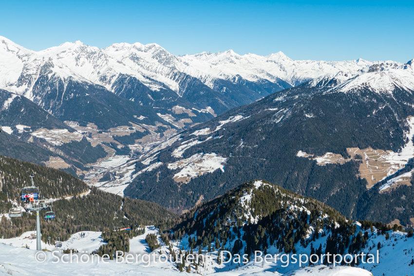 Tauferer Ahrntal - Blick ins Tal