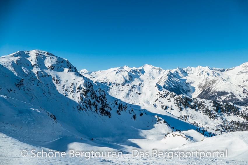 Tauferer Ahrntal - Blick auf Zillertaler Alpen