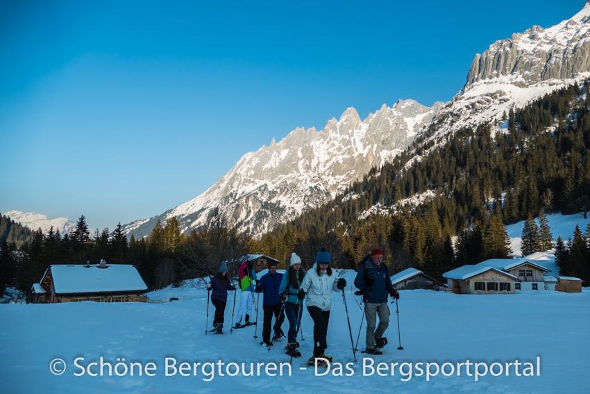 Haslital - Schneeschuhwandern im Reichenbachtal