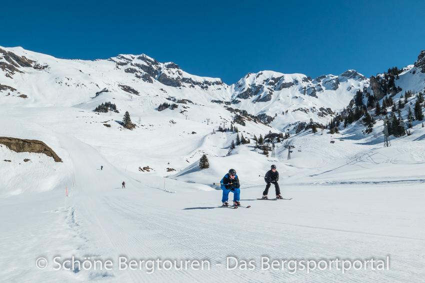 Haslital - Skifahrer
