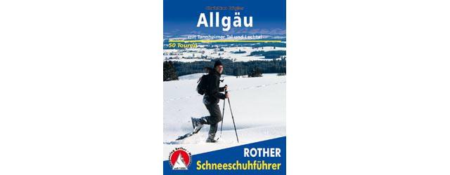 Rother Schneeschuhfuehrer Allgaeu - Cover